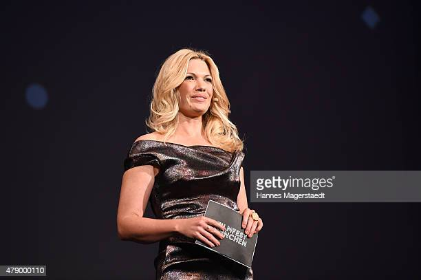 Jessica Kastrop attends the Cine Merit Award during the Munich Film Festival at Gasteig on June 29 2015 in Munich Germany