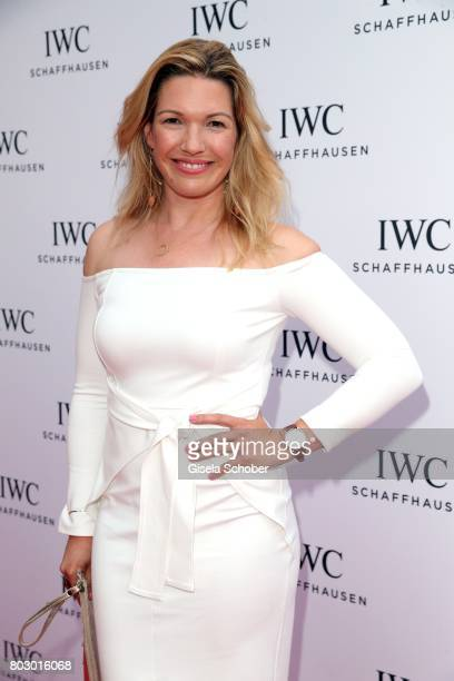 Jessica Kastrop attends the exclusive grand opening event of the new IWC Schaffhausen Boutique in Munich on June 28 2017 in Munich Germany