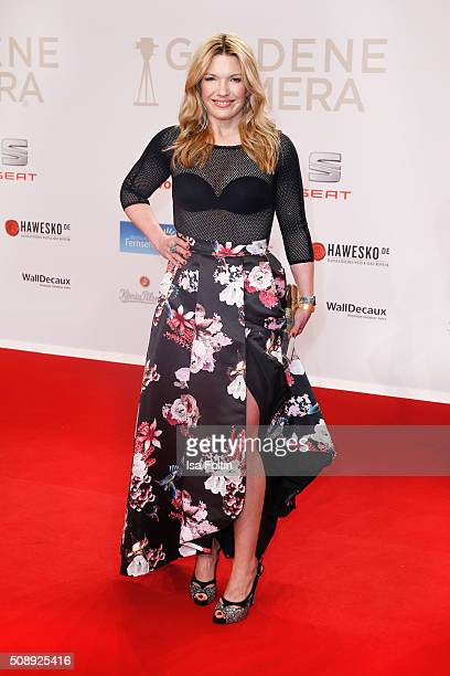 Jessica Kastrop attends the Goldene Kamera 2016 on February 6 2016 in Hamburg Germany