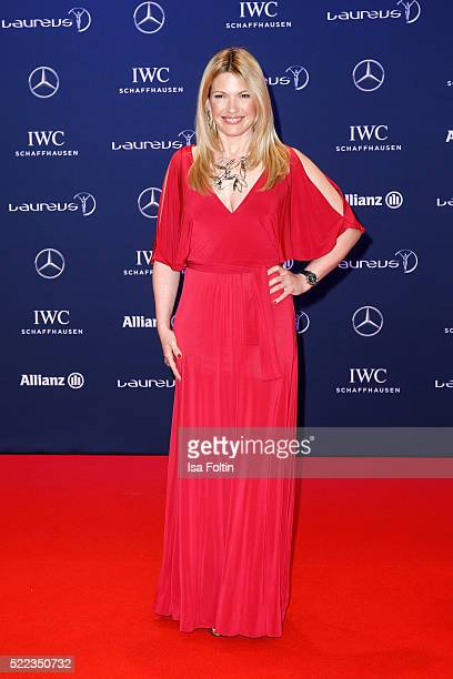 Jessica Kastrop attends the Laureus World Sports Awards 2016 on April 18 2016 in Berlin Germany