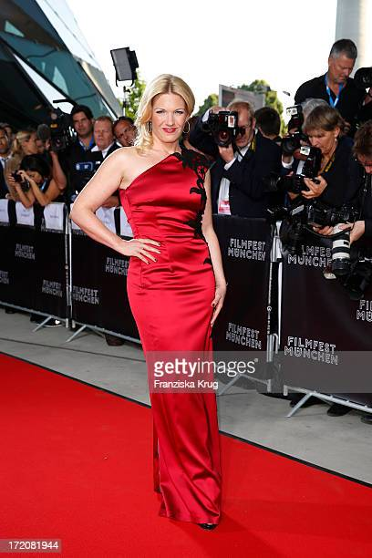 Jessica Kastrop attends the Munich Film Festival 2013 Cine Merit Award 2013 at BMW World on July 01 2013 in Munich Germany