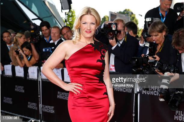 Jessica Kastrop attends the Munich Film Festival 2013 - Cine Merit Award 2013 at BMW World on July 01, 2013 in Munich, Germany.