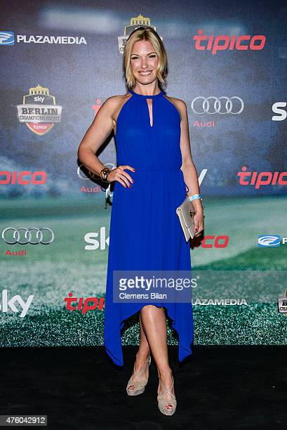 Jessica Kastrop attends the Sky Champions Night at The Grand on June 5, 2015 in Berlin, Germany.