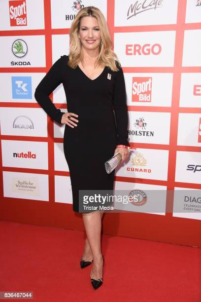 Jessica Kastrop attends the Sport Bild Award on August 21 2017 in Hamburg Germany