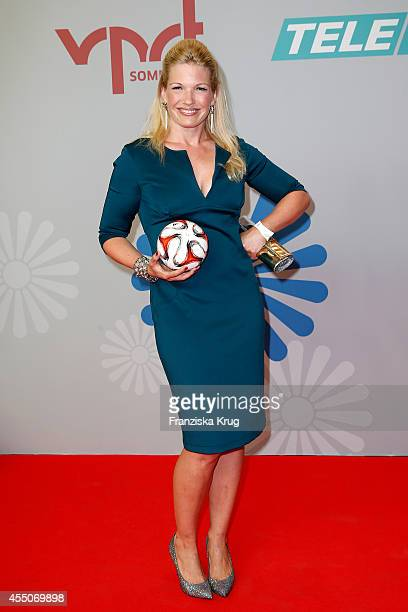 Jessica Kastrop attends the VPRT Hosts Summer Party at Cafe Moskau on September 09 2014 in Berlin Germany