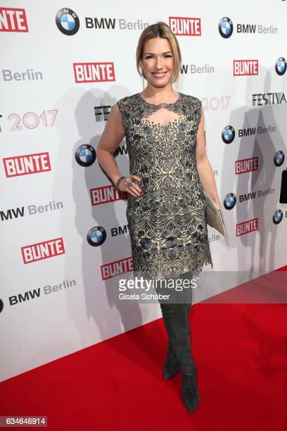 Jessica Kastrop during the BUNTE BMW Festival Night during the 67th Berlinale International Film Festival Berlin at restaurant 'Gendarmerie' on...