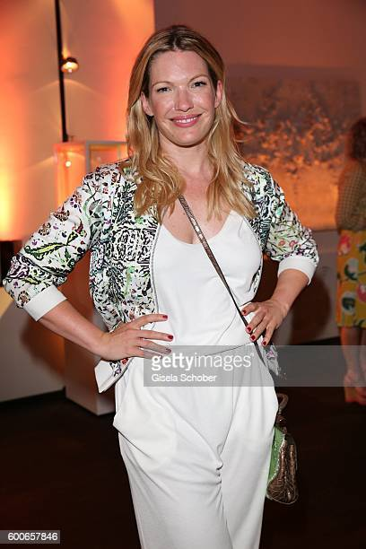 Jessica Kastrop during the 'Casha for Cadenzza' jewelry collection launch event at restaurant 'Pageou' on September 8 2016 in Munich Germany