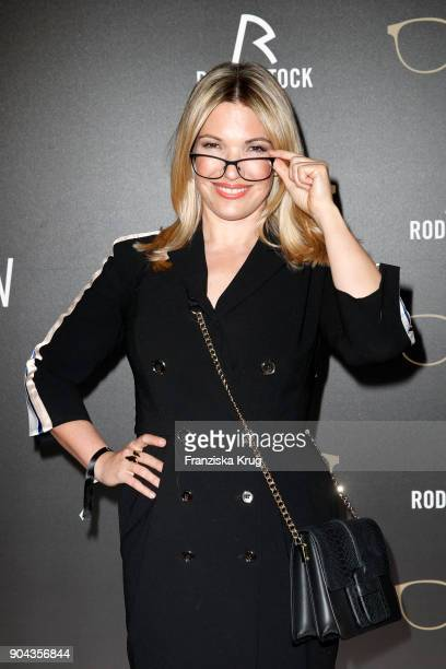Jessica Kastrop during the Rodenstock Eyewear Show on January 12 2018 in Munich Germany