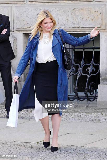 Jessica Kastrop sighted at the Hotel de Rome on April 18, 2016 in Berlin, Germany.