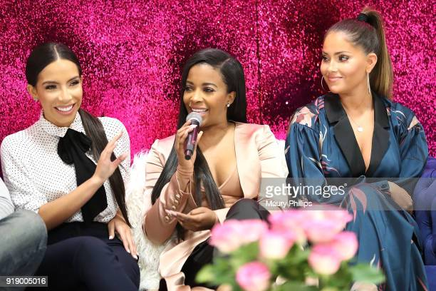 Jessica Killings Jessica Rich and Olivia Pierson attend the 2018 Beauty The Beats Celebrity Party and Panel Discussion at Dream Magic Studios on...