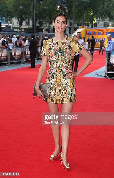 Jessica Knappett attends the 'Alan Partridge Alpha Papa' World Premiere Day at Vue Leicester Square on July 24 2013 in London England