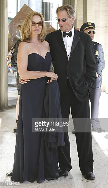 Jessica Lange and Sam Shepard during The Film Society of Lincoln Center Honors Jessica Lange at the 34th Annual Gala at Lincoln Center in Manhattan...