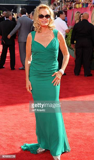 Jessica Lange arrives at the 61st Primetime Emmy Awards held at the Nokia Theatre on September 20 2009 in Los Angeles California
