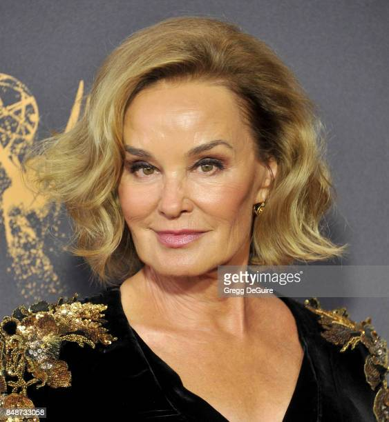 Jessica Lange arrives at the 69th Annual Primetime Emmy Awards at Microsoft Theater on September 17 2017 in Los Angeles California