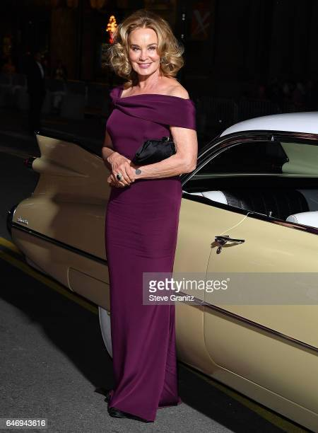 Jessica Lange arrives at the Premiere Of FX Network's 'Feud Bette And Joan' at Grauman's Chinese Theatre on March 1 2017 in Hollywood California