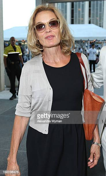 Jessica Lange at 'Red' Los Angeles Opening Night Performance held at The Mark Taper Forum on August 12 2012 in Los Angeles California