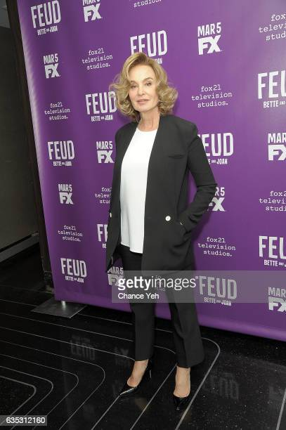 Jessica Lange attends Feud Tastemaker lunch at The Rainbow Room on February 14 2017 in New York City