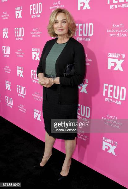 Jessica Lange attends FX's 'Feud Bette And Joan' FYC event at The Wilshire Ebell Theatre on April 21 2017 in Los Angeles California