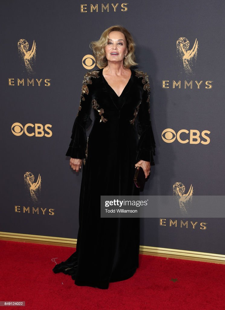 Jessica Lange attends the 69th Annual Primetime Emmy Awards at Microsoft Theater on September 17, 2017 in Los Angeles, California.