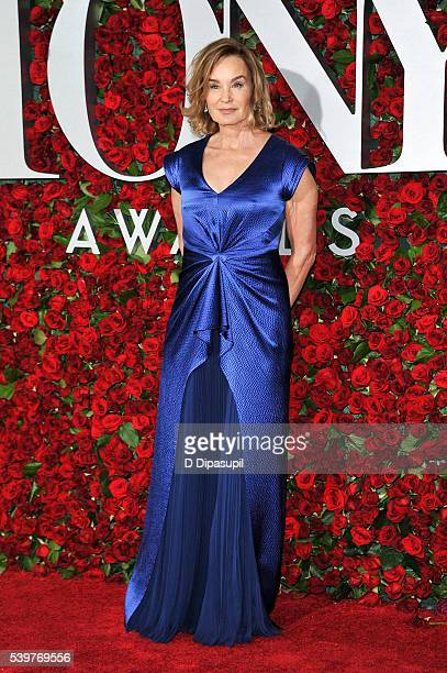 Jessica Lange attends the 70th Annual Tony Awards at the Beacon Theatre on June 12 2016 in New York City