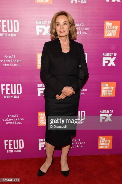 Jessica Lange attends the 'Feud Bette and Joan' NYC Event at Alice Tully Hall at Lincoln Center on April 18 2017 in New York City