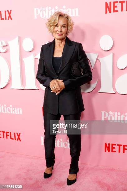 Jessica Lange attends the premiere of Netflix's The Politician at DGA Theater on September 26 2019 in New York City