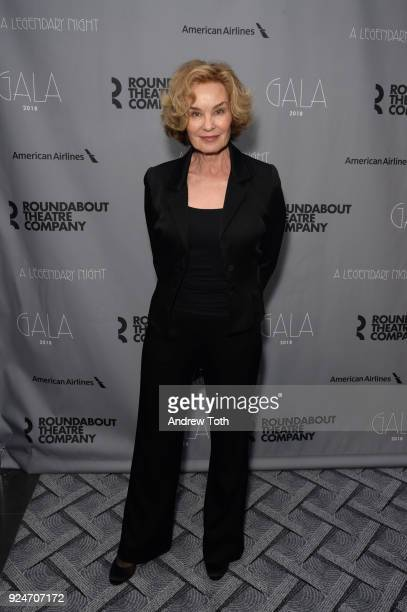 Jessica Lange attends the Roundabout Theatre Company's 2018 Gala at The Ziegfeld Ballroom on February 26 2018 in New York City
