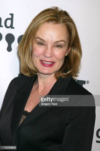 Jessica Lange during 16th Annual GLAAD Media Awards - Arrivals at Marriott Marquis in New York City, New York, United States.