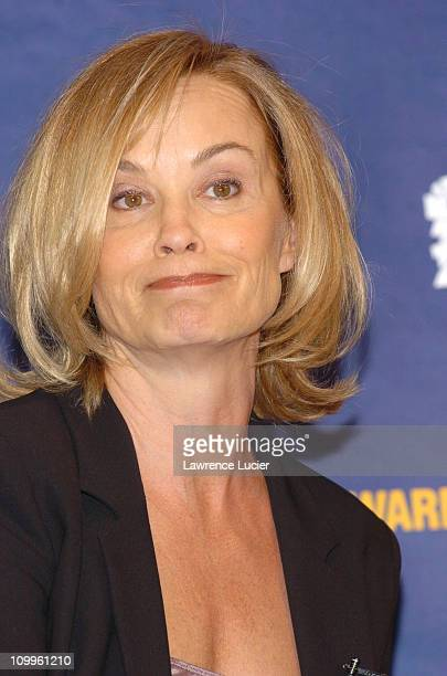 Jessica Lange during 2004 Reebok Human Rights Award at Charles Dana Lounge at Avery Fisher Hall Lincoln Center in New York City New York United States