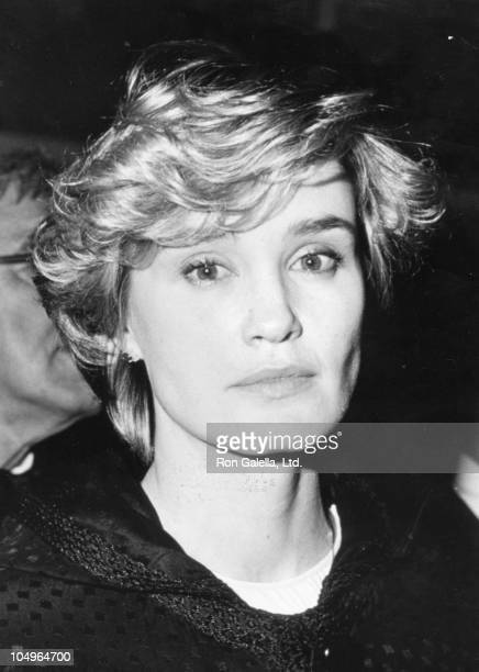 Jessica Lange during American Film Institute Gala Tribute to John Huston at Beverly Hilton Hotel in Beverly Hills CA United States