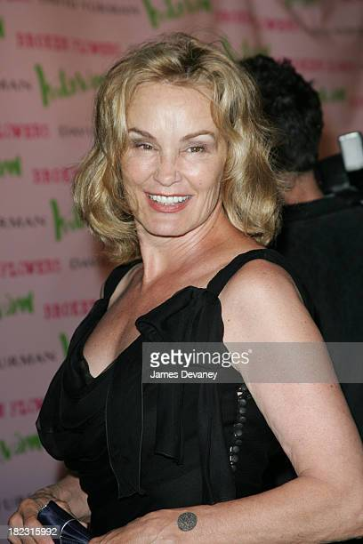 Jessica Lange during Broken Flowers New York City Premiere Outside Arrivals at Clearview Chelsea West Cinema in New York City New York United States