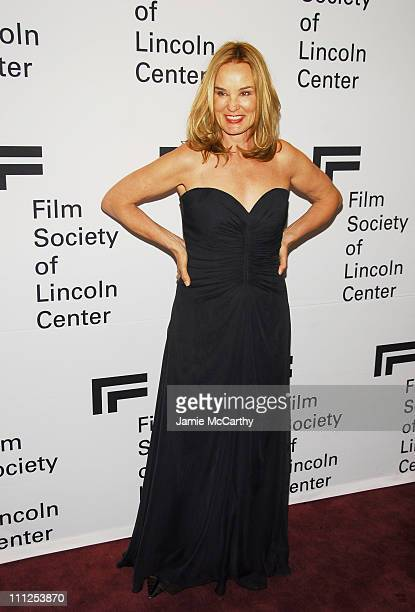 Jessica Lange during Jessica Lange Honored by the Film Society of Lincoln Center - Green Room at Avery Fisher Hall in New York City, New York, United...