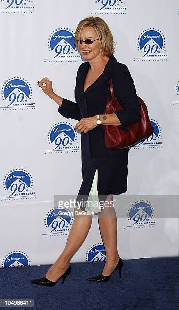 Jessica Lange during Paramount Pictures Celebrates 90th Anniversary With 90 Stars for 90 Years at Paramount Pictures in Los Angeles California United...