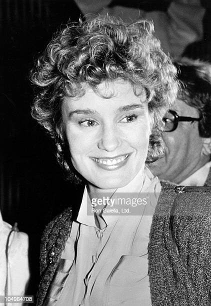 Jessica Lange during Premiere of 'Tootsie' at mann's Chinese Theater in Hollywood CA United States