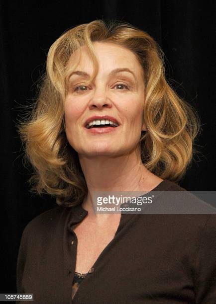 Jessica Lange during The 71st Annual Drama League Awards Inside Arrivals at Marriott Marquis Hotel in New York City New York United States