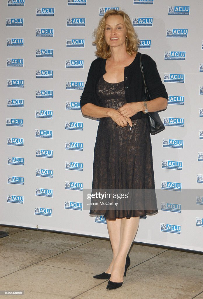 Jessica Lange during The ACLU Freedom Concert - Arrivals at Avery Fisher Hall at Lincoln Center in New York City, New York, United States.