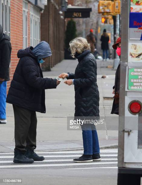 Jessica Lange is seen on January 8, 2021 in New York City, New York.