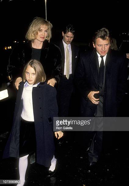 Jessica Lange Mikhail Baryshnikov and Daughter Alexandra Baryshnikov