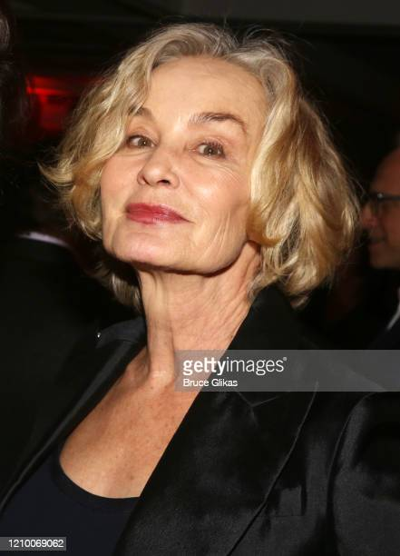 Jessica Lange poses at the 2020 Roundabout Theater Gala honoring Alan Cumming, Michael Kors & Lance LePere at The Ziegfeld Ballroom on March 2, 2020...