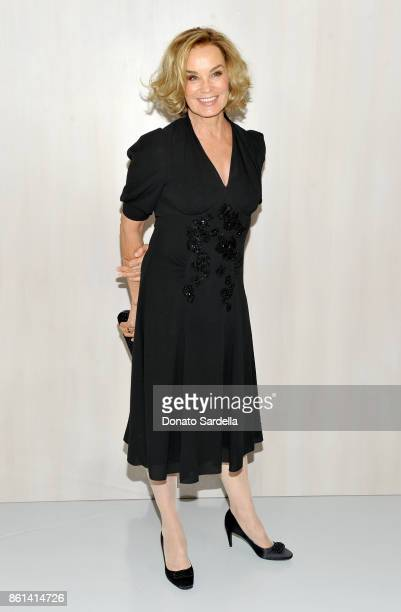 Jessica Lange wearing Bottega Veneta at the Hammer Museum 15th Annual Gala in the Garden with Generous Support from Bottega Veneta on October 14 2017...