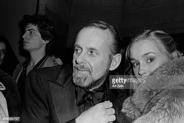 Jessica Lange with Bob Fosse her boyfriend circa 1960 New York