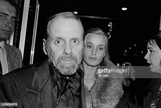 Jessica Lange with Bob Fosse her boyfriend circa 1960 New York