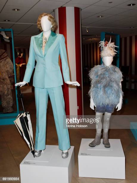 Jessica Lange's wardrobe from 'American Horror Story' on display at The Paley Center for Media Celebration of 'American Horror Story The Style Of...