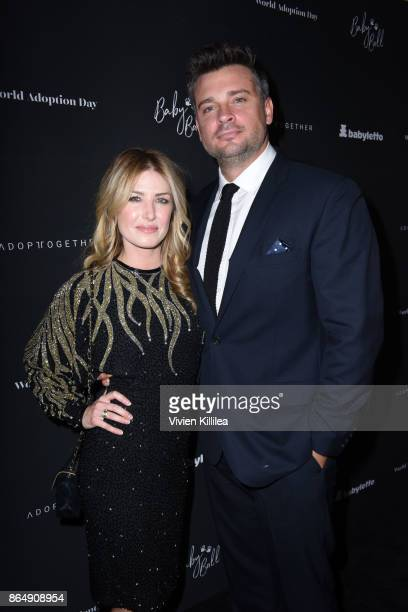 Jessica Lee Rose and Tom Welling attend the 3rd Annual Baby Ball Gala at NeueHouse Los Angeles on October 21 2017 in Hollywood California