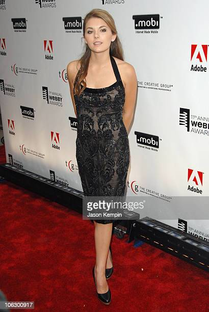Jessica Lee Rose during The 11th Annual Webby Awards June 5 2007 at Cipriani Wall Street in New York City New York United States