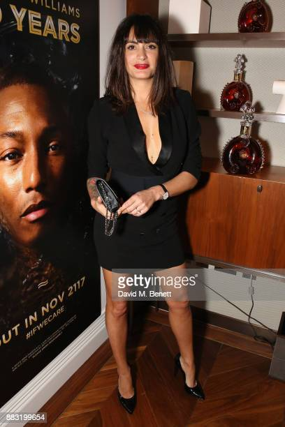 Jessica LemariePires attends as LOUIS XIII and Dylan Jones GQ Editor in Chief cohost Intimate Dinner Celebrating the brand's '100 Years' partnership...