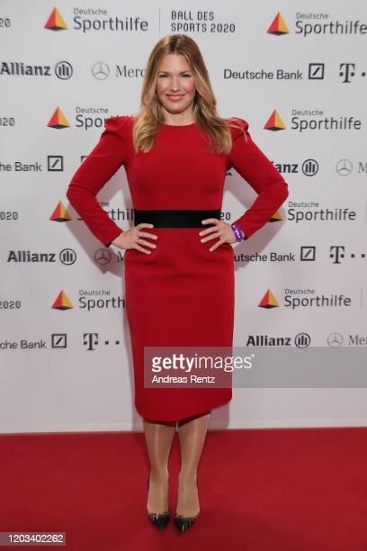 Jessica Libbertz attends the Ball des Sports 2020 gala at RheinMain CongressCenter on February 01, 2020 in Wiesbaden, Germany.