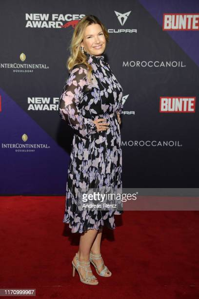 "Jessica Libbertz attends the Bunte ""New Faces Award Music"" on August 29, 2019 in Dusseldorf, Germany."