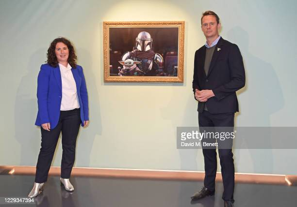 Jessica Litwin, Director of Development at National Portrait Gallery, and Luke Bradley-Jones, SVP of Direct to Consumer and General Manager of...
