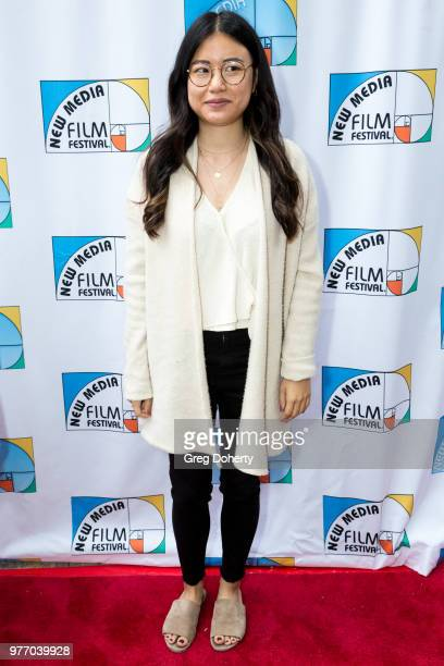 Jessica Liu attends the 9th Annual New Media Film Festival at James Bridges Theater on June 16 2018 in Los Angeles California